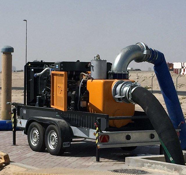 Impianti di sollevamento acque - Centrifughe | Millar Wellpoint